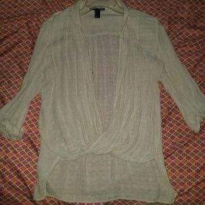 ❌SOLD ivory colored dress top